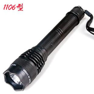 1106型防身手电钛合金改进型远射强光电击器